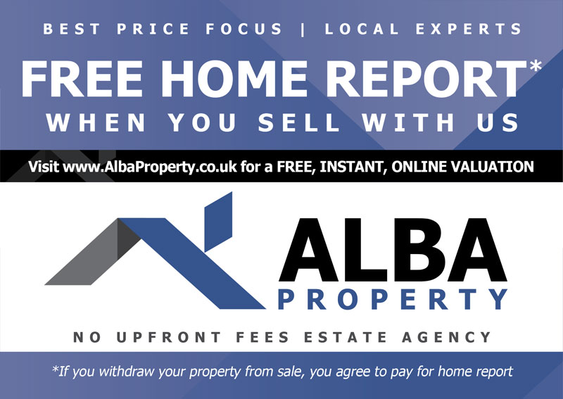 Alba Property West Lothian Advert